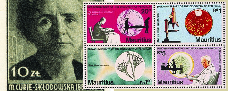 Medical History Through Stamps
